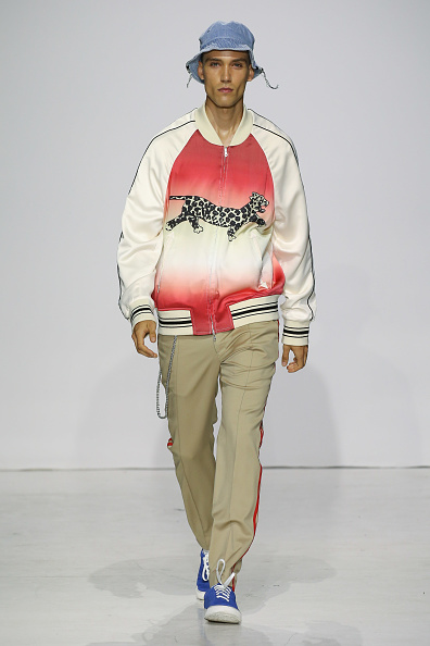 Khaki Tan「Ovadia & Sons - Runway - NYFW: Men's July 2017」:写真・画像(5)[壁紙.com]