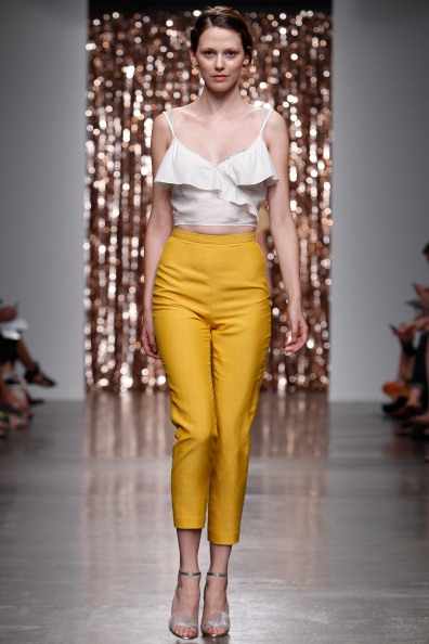 High Waist Pants「Tocca - Runway - Mercedes-Benz Fashion Week Spring 2014」:写真・画像(11)[壁紙.com]