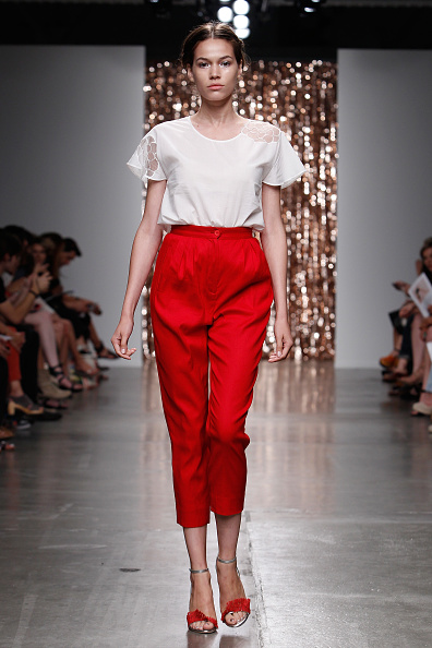 High Waist Pants「Tocca - Runway - Mercedes-Benz Fashion Week Spring 2014」:写真・画像(12)[壁紙.com]