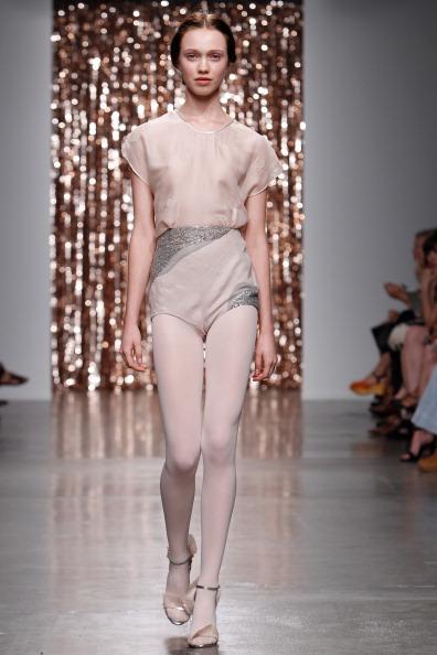 Silver Shoe「Tocca - Runway - Mercedes-Benz Fashion Week Spring 2014」:写真・画像(7)[壁紙.com]