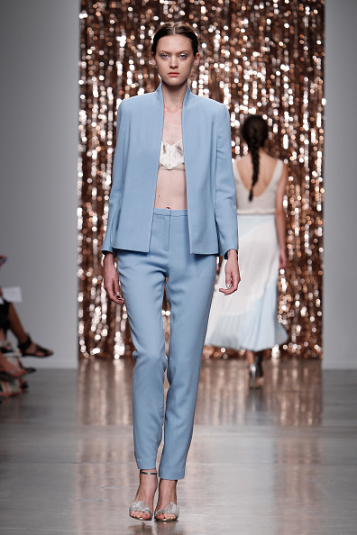 High Waist Pants「Tocca - Runway - Mercedes-Benz Fashion Week Spring 2014」:写真・画像(14)[壁紙.com]