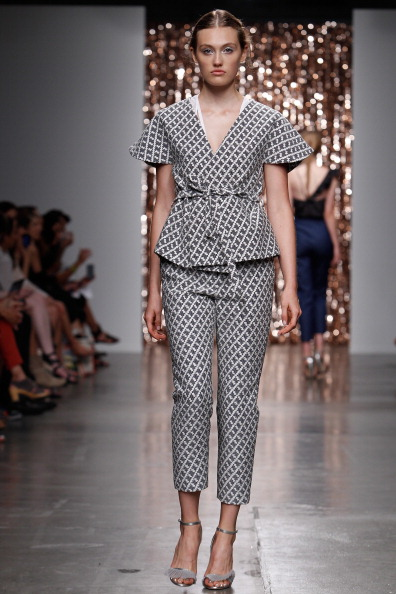Silver Shoe「Tocca - Runway - Mercedes-Benz Fashion Week Spring 2014」:写真・画像(5)[壁紙.com]