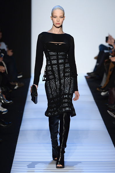Leather Boot「Herve Leger By Max Azria - Runway - Mercedes-Benz Fashion Week Fall 2014」:写真・画像(6)[壁紙.com]