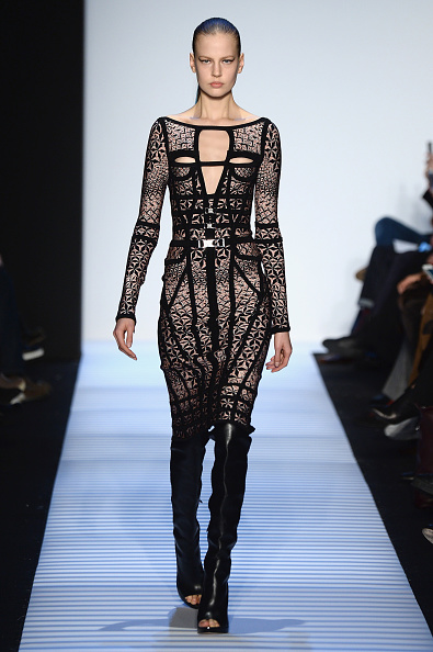 Leather Boot「Herve Leger By Max Azria - Runway - Mercedes-Benz Fashion Week Fall 2014」:写真・画像(15)[壁紙.com]
