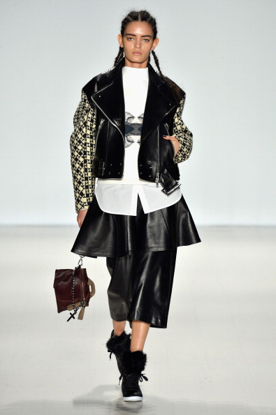 Leather Jacket「Concept Korea - Runway - Mercedes-Benz Fashion Week Fall 2014」:写真・画像(6)[壁紙.com]