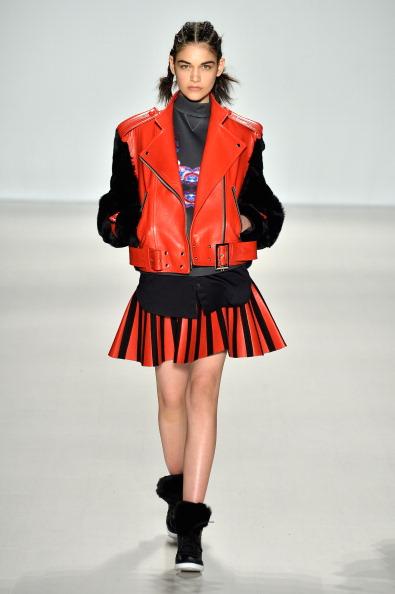 Leather Jacket「Concept Korea - Runway - Mercedes-Benz Fashion Week Fall 2014」:写真・画像(7)[壁紙.com]