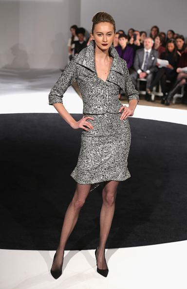Gray Skirt「B Michael America - Runway - Mercedes-Benz Fashion Week Fall 2015」:写真・画像(18)[壁紙.com]