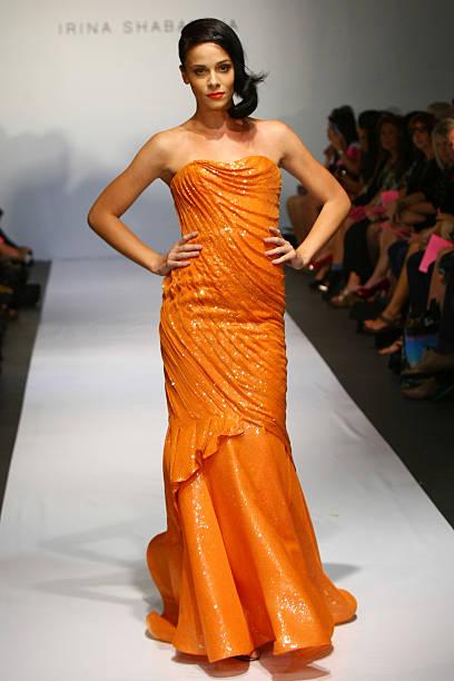 Irina Shabayeva - Runway - Spring 2012 Mercedes-Benz Fashion Week:ニュース(壁紙.com)