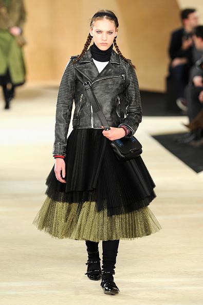 Leather Jacket「Marc By Marc Jacobs - Runway - Mercedes-Benz Fashion Week Fall 2014」:写真・画像(7)[壁紙.com]