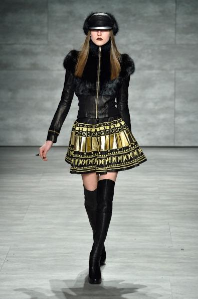 Flared Skirt「Skingraft - Runway - Mercedes-Benz Fashion Week Fall 2014」:写真・画像(9)[壁紙.com]
