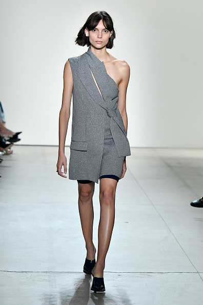 Gray Color「Dion Lee - Runway - September 2017 - New York Fashion Week: The Shows」:写真・画像(11)[壁紙.com]