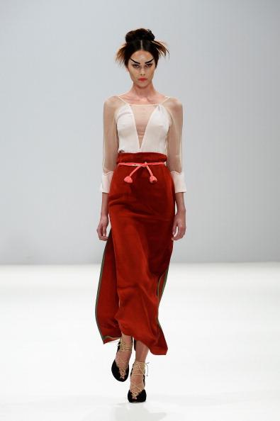 Three Quarter Length Sleeve「Ji Cheng Sheme - Runway: London Fashion Week SS14」:写真・画像(13)[壁紙.com]