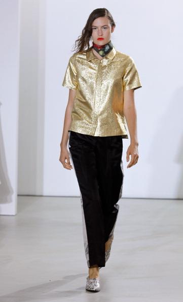 Metallic Shoe「Creatures Of The Wind - Runway - Mercedes-Benz Fashion Week Spring 2014」:写真・画像(18)[壁紙.com]