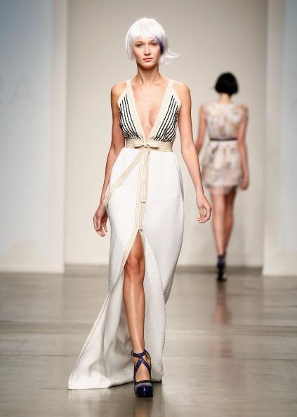 Purple Shoe「Nolcha Fashion Week New York Presented by RUSK During New York Fashion Week Spring/Summer 2014 Runway - Katty Xiomara」:写真・画像(13)[壁紙.com]