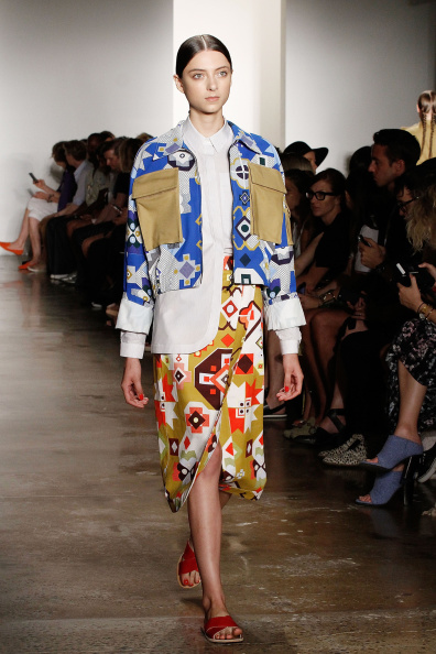 Blue Jacket「Ostwald Helgason - Presentation - MADE Fashion Week Spring 2015」:写真・画像(1)[壁紙.com]
