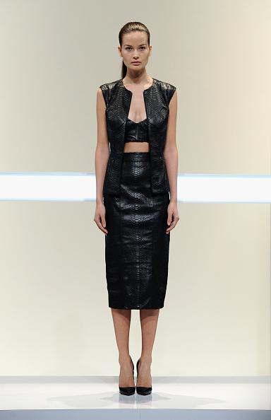 Black Skirt「Mathieu Mirano - Runway - Mercedes-Benz Fashion Week Spring 2014」:写真・画像(17)[壁紙.com]