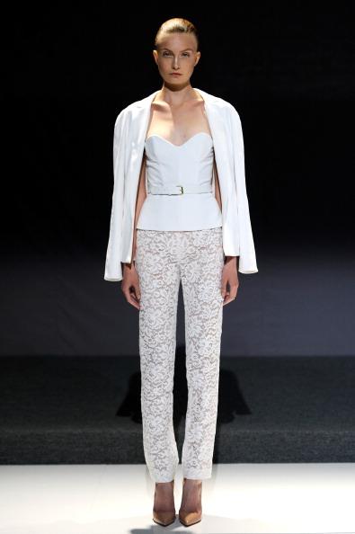 Sweetheart Neckline「Mathieu Mirano - Runway - Mercedes-Benz Fashion Week Spring 2014」:写真・画像(16)[壁紙.com]