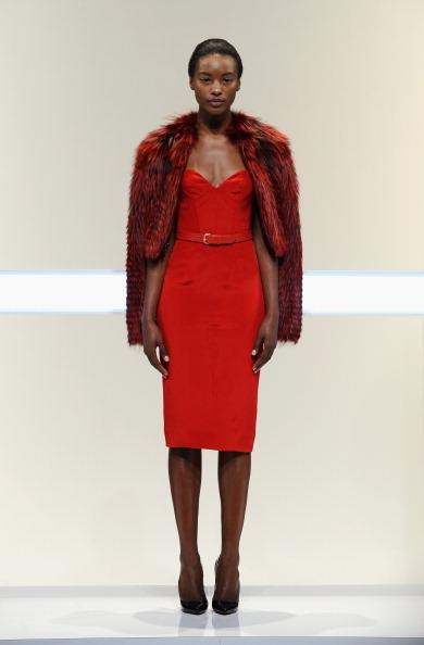 Sweetheart Neckline「Mathieu Mirano - Runway - Mercedes-Benz Fashion Week Spring 2014」:写真・画像(14)[壁紙.com]