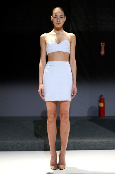 Sweetheart Neckline「Mathieu Mirano - Runway - Mercedes-Benz Fashion Week Spring 2014」:写真・画像(13)[壁紙.com]