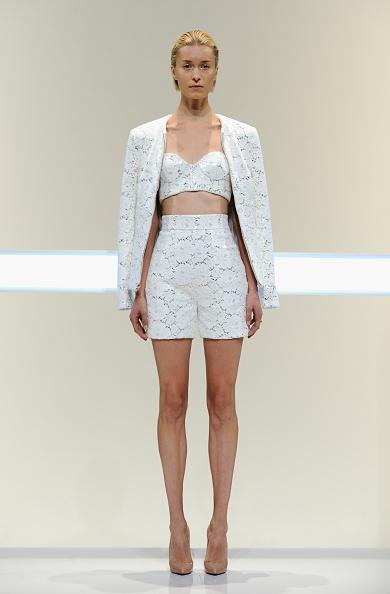 Sweetheart Neckline「Mathieu Mirano - Runway - Mercedes-Benz Fashion Week Spring 2014」:写真・画像(15)[壁紙.com]