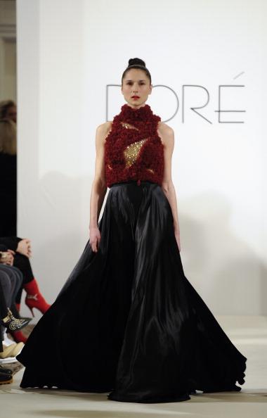 Two Tone - Color「Dore - Runway - Mercedes-Benz Fashion Week Fall 2014」:写真・画像(15)[壁紙.com]