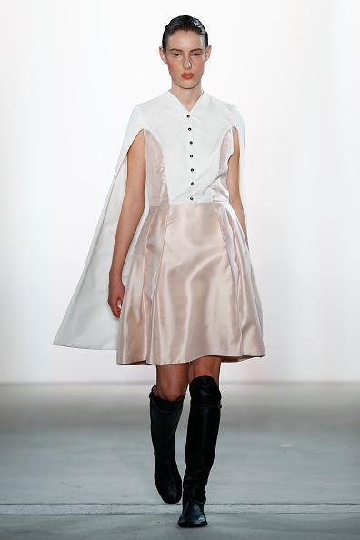 Leather Boot「Leonie Mergen Show - Mercedes-Benz Fashion Week Berlin A/W 2017」:写真・画像(17)[壁紙.com]