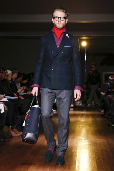 Loafer「Michael Bastian - Runway - Mercedes-Benz Fashion Week Fall 2014」:写真・画像(7)[壁紙.com]