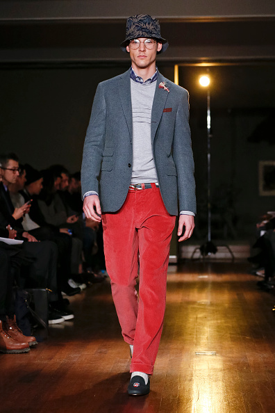 Loafer「Michael Bastian - Runway - Mercedes-Benz Fashion Week Fall 2014」:写真・画像(6)[壁紙.com]