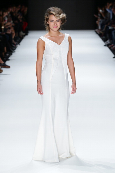 Sleeveless「Songul Cabaci - Runway - MBFWI S/S 2014 Presented By American Express」:写真・画像(12)[壁紙.com]