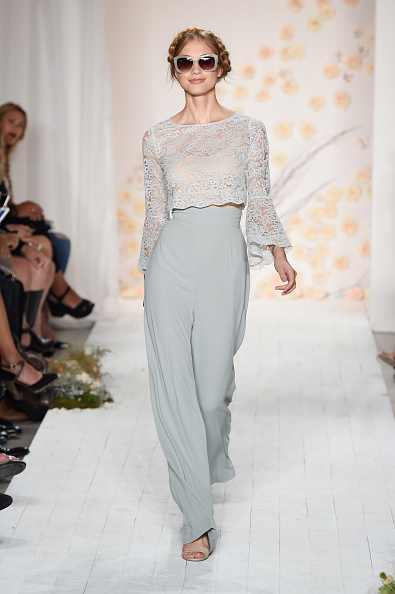 High Waist Pants「LC Lauren Conrad - Runway - Spring 2016 New York Fashion Week」:写真・画像(1)[壁紙.com]