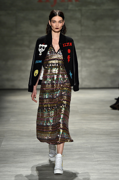 Canvas Shoe「IIJIN - Runway - Mercedes-Benz Fashion Week Fall 2015」:写真・画像(6)[壁紙.com]