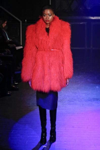 Leather Boot「Malan Breton - Runway - Mercedes-Benz Fashion Week Fall 2014」:写真・画像(2)[壁紙.com]