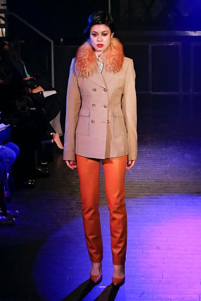 Double Breasted「Malan Breton - Runway - Mercedes-Benz Fashion Week Fall 2014」:写真・画像(16)[壁紙.com]