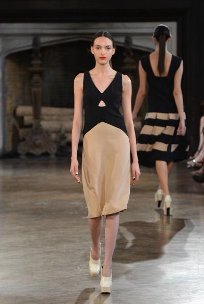 Sleeveless Dress「Giulietta - Runway - Mercedes-Benz Fashion Week Spring 2014」:写真・画像(11)[壁紙.com]