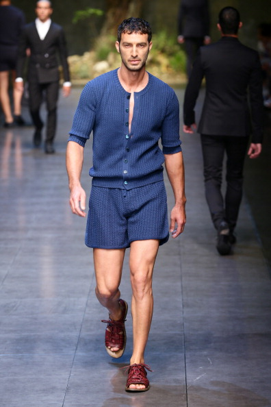 Dark Blue「Dolce & Gabbana - Runway - MFW S/S 2014」:写真・画像(9)[壁紙.com]
