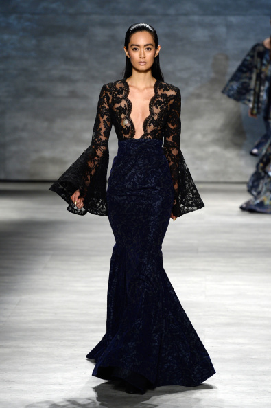 Scalloped - Pattern「Michael Costello - Runway - Mercedes-Benz Fashion Week Spring 2015」:写真・画像(10)[壁紙.com]