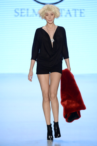 Leather Boot「Selma State: Runway - MBFWI Presented By American Express Fall/Winter 2014」:写真・画像(13)[壁紙.com]