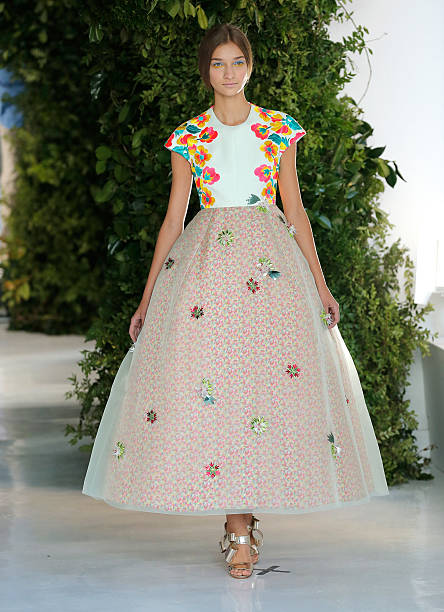 Delpozo - Runway - Mercedes-Benz Fashion Week Spring 2014:ニュース(壁紙.com)