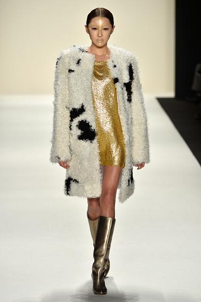 Metallic Shoe「Katya Zol - Runway - Mercedes-Benz Fashion Week Fall 2014」:写真・画像(13)[壁紙.com]