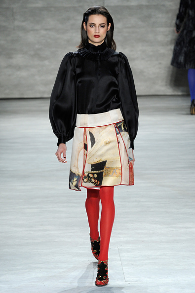 Long Hair「Mercedes-Benz Fashion Week Fall 2014 - Official Coverage - Best Of Runway Day 3」:写真・画像(1)[壁紙.com]