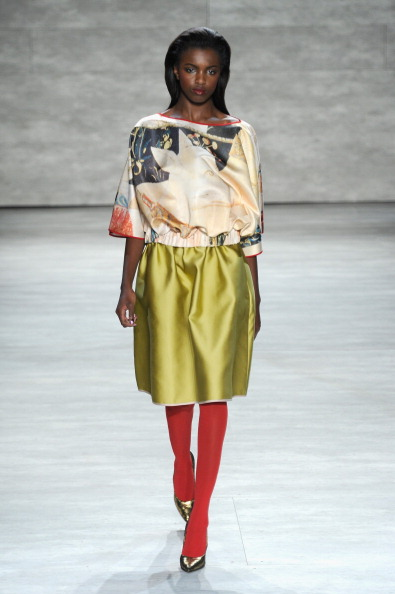Three Quarter Length Sleeve「Mercedes-Benz Fashion Week Fall 2014 - Official Coverage - Best Of Runway Day 3」:写真・画像(15)[壁紙.com]