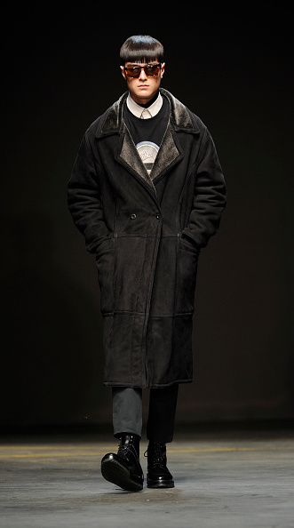 Black Shoe「A.Sauvage: Runway - London Collections: Men AW14」:写真・画像(1)[壁紙.com]