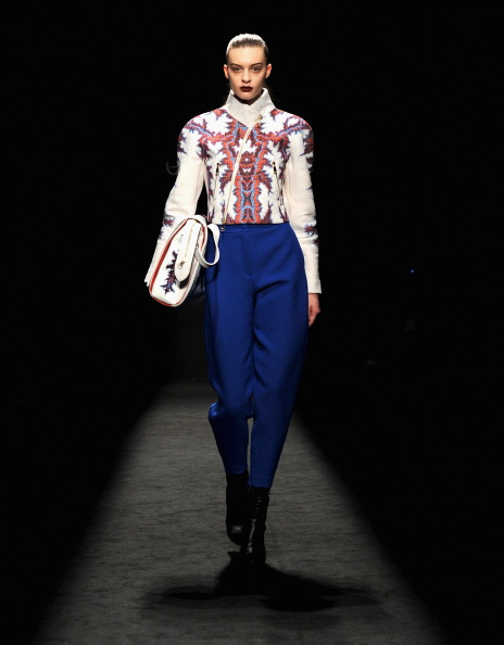 Leather Boot「Byblos - Runway - Milan Fashion Week Womenswear Autumn/Winter 2014」:写真・画像(9)[壁紙.com]