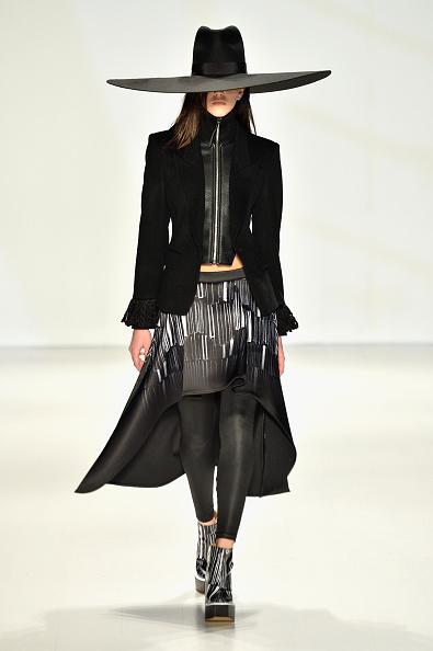 Leather Jacket「Concept Korea - Runway - Mercedes-Benz Fashion Week Fall 2014」:写真・画像(5)[壁紙.com]