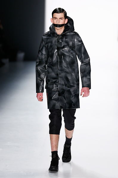 Leather Jacket「Sopopular Show - Mercedes-Benz Fashion Week Berlin Autumn/Winter 2015/16」:写真・画像(6)[壁紙.com]