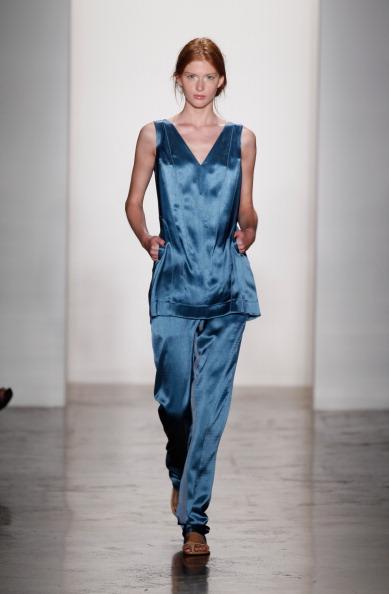 Sleeveless Top「Costello Tagliapietra - Runway - MADE Fashion Week Spring 2014」:写真・画像(5)[壁紙.com]