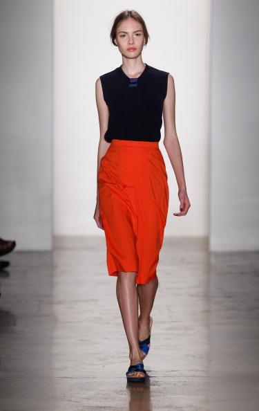 Sleeveless Top「Costello Tagliapietra - Runway - MADE Fashion Week Spring 2014」:写真・画像(4)[壁紙.com]
