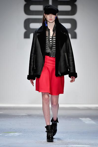 Leather Jacket「Riani Show - MBFW Berlin January 2018」:写真・画像(13)[壁紙.com]