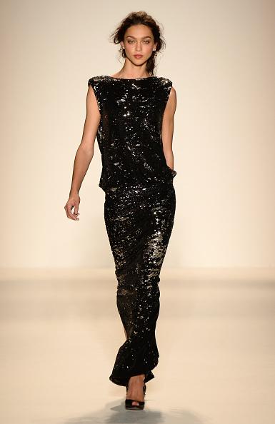 Sequin Dress「Rachel Zoe - Runway - Mercedes-Benz Fashion Week Spring 2014」:写真・画像(17)[壁紙.com]