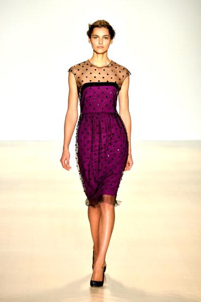 Cap Sleeve「Lela Rose - Runway - Mercedes-Benz Fashion Week Fall 2014」:写真・画像(13)[壁紙.com]